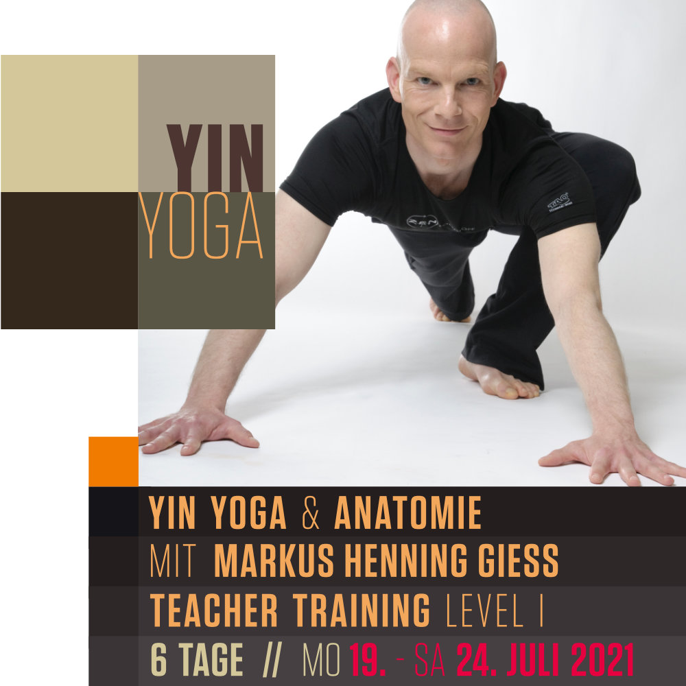 Yin Yoga & Anatomie Teacher Training