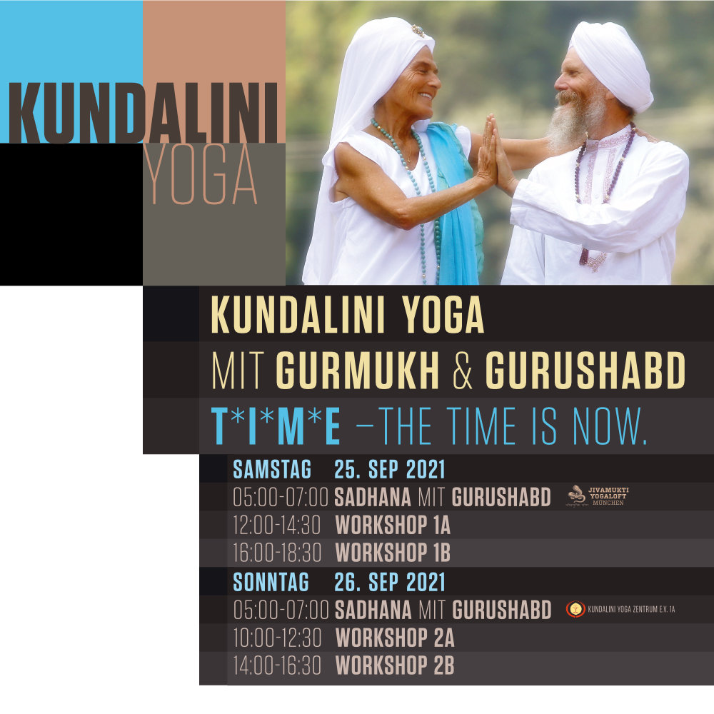 T*I*M*E WORKSHOP with GURMUKH and GURUSHABD – 25/26 SEP 2021